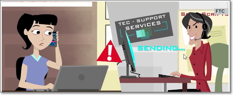 Microsoft Technical Support Helpdesk oplichting