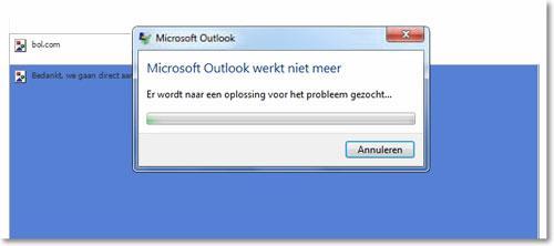outlook werkt niet meer op mac