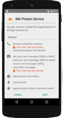 spionage app android test